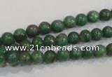 CRZ601 15.5 inches 6mm round New ruby zoisite gemstone beads