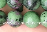 CRZ774 15.5 inches 12mm round ruby zoisite beads wholesale