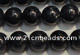 CRZ958 15.5 inches 8mm - 8.5mm round A+ grade natural sapphire beads