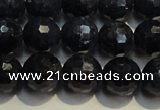CRZ963 15.5 inches 7mm – 7.8mm faceted round A grade sapphire beads