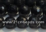 CRZ965 15.5 inches 7mm – 7.8mm faceted round A+ grade sapphire beads