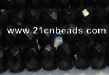 CRZ985 15.5 inches 5*7mm faceted rondelle AA grade sapphire beads