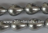 CSB115 15.5 inches 15*19mm teardrop shell pearl beads wholesale