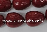 CSB131 15.5 inches 18*22mm nuggets shell pearl beads wholesale