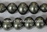 CSB147 15.5 inches 12*15mm – 13*16mm oval shell pearl beads