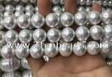CSB2114 15.5 inches 16mm ball shell pearl beads wholesale