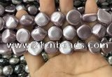 CSB2156 15.5 inches 14*14mm - 15*15mm baroque shell pearl beads