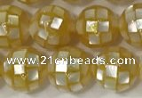 CSB4003 15.5 inches 8mm ball abalone shell beads wholesale