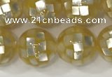 CSB4012 15.5 inches 10mm ball abalone shell beads wholesale