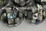 CSB4051 15.5 inches 18mm ball abalone shell beads wholesale