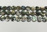 CSB4113 15.5 inches 12mm heart abalone shell beads wholesale
