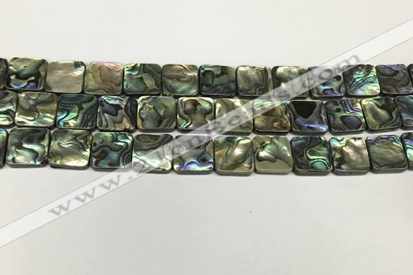 CSB4145 15.5 inches 12*12mm square abalone shell beads wholesale