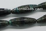 CSG07 15.5 inches 10*30mm rice long spar gemstone beads wholesale