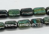 CSG08 15.5 inches 10*14mm rectangle long spar gemstone beads wholesale