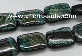 CSG09 15.5 inches 13*18mm rectangle long spar gemstone beads wholesale