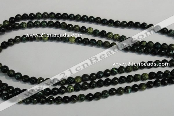 CSG29 15.5 inches 6mm round long spar gemstone beads wholesale