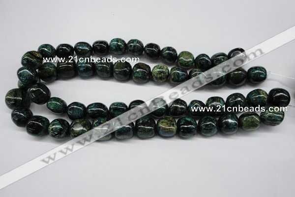 CSG33 15.5 inches 14*15mm nuggets long spar gemstone beads