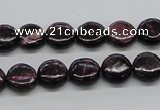 CSG55 15.5 inches 10mm flat round long spar gemstone beads wholesale
