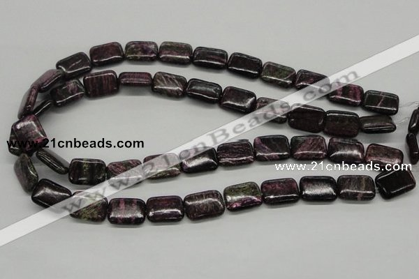 CSG61 15.5 inches 13*18mm rectangle long spar gemstone beads wholesale