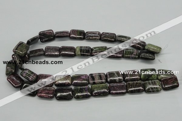 CSG62 15.5 inches 15*20mm rectangle long spar gemstone beads wholesale