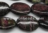 CSG75 15.5 inches 18*25mm oval long spar gemstone beads wholesale