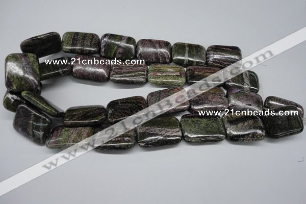 CSG78 15.5 inches 22*30mm rectangle long spar gemstone beads wholesale