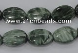 CSH50 15.5 inches 15*20mm oval natural seraphinite gemstone beads