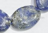 CSO12 15.5 inches 18*25mm oval A grade sodalite beads wholesale