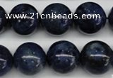 CSO406 15.5 inches 16mm round dyed sodalite gemstone beads