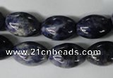 CSO54 15.5 inches 13*18mm rice sodalite gemstone beads