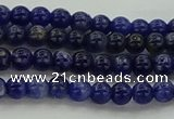 CSO631 15.5 inches 4mm round sodalite gemstone beads wholesale