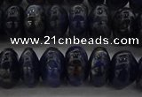 CSO654 15.5 inches 7*12mm rondelle sodalite gemstone beads