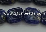 CSO689 15.5 inches 16*16mm square sodalite gemstone beads