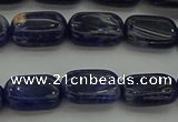 CSO695 15.5 inches 8*12mm rectangle sodalite gemstone beads