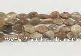 CSS409 15.5 inches 15*20mm flat teardrop sunstone beads wholesale