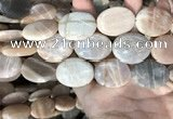 CSS417 15.5 inches 20*30mm oval sunstone beads wholesale