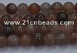 CSS631 15.5 inches 6mm round sunstone gemstone beads wholesale