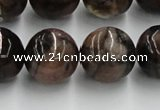 CST05 15.5 inches 18mm round staurolite gemstone beads wholesale