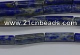 CTB356 15.5 inches 4*13mm tube lapis lazuli beads wholesale