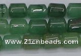 CTB705 15.5 inches 6*8mm tube green aventurine beads wholesale