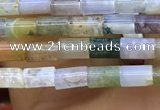 CTB818 15.5 inches 2*4mm tube Indian agate beads wholesale