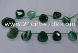 CTD2569 15.5 inches 18*25mm - 30*40mm freeform agate beads