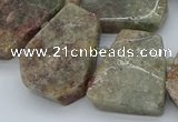 CTD3506 Top drilled 15*20mm - 25*30mm freeform ghost gemstone beads