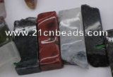 CTD359 Top drilled 10*25mm - 10*50mm wand Indian agate beads
