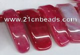 CTD598 Top drilled 10*30mm - 12*45mm wand agate gemstone beads