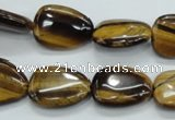 CTE113 15.5 inches 13*18mm freeform yellow tiger eye beads wholesale