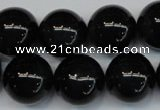 CTE1176 15.5 inches 18mm round AAA grade blue tiger eye beads