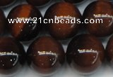 CTE1264 15.5 inches 14mm round AB grade red tiger eye beads