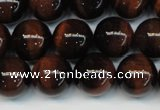 CTE1284 15.5 inches 6mm round A+ grade red tiger eye beads
