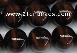 CTE1294 15.5 inches 10mm round AA grade red tiger eye beads